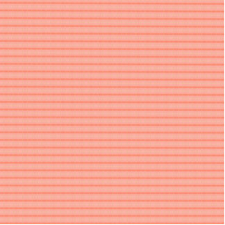 Abstract salmon pink stripes pattern standing photo sculpture