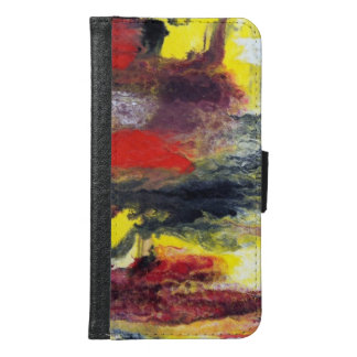 Abstract Samsung Galaxy S6 Wallet Case