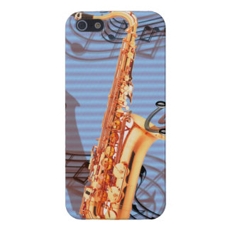 Abstract Saxophone iPhone 5 Case