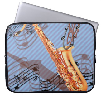 Abstract Saxophone Laptop Case Laptop Sleeves