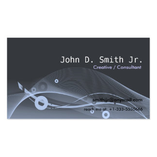 Abstract Scape Pack Of Standard Business Cards