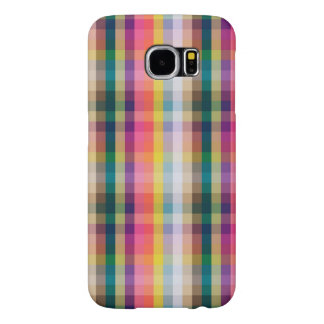 Abstract Scottish Plaid Samsung Galaxy S6 Cases