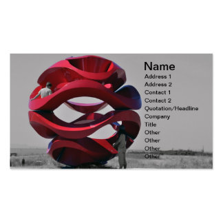 Abstract Sculpture at Park Business Card