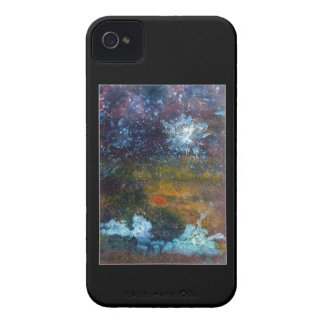 Abstract, Sea at Night. Case-Mate iPhone 4 Case