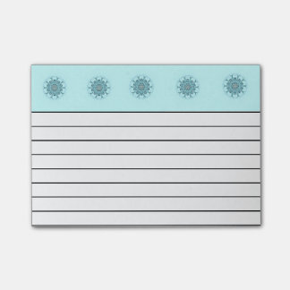 Abstract seafoam post-it® notes