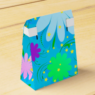 Abstract seamless  background with volume flowers. favour boxes