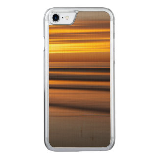 Abstract seascape at sunset, CA Carved iPhone 7 Case