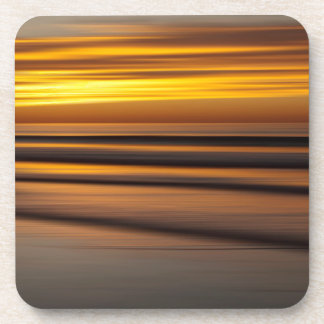 Abstract seascape at sunset, CA Coaster