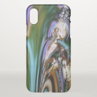 Abstract Seashell iPhone X Case