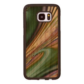 Abstract Seashell Wood Samsung Galaxy S7 Edge Case