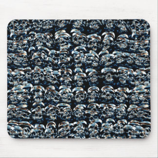 Abstract Series of Skulls Mouse Pad