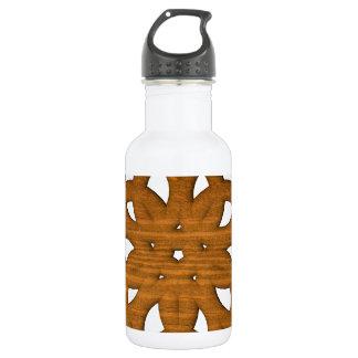 Abstract shape 532 ml water bottle