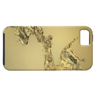 Abstract Shape Formed by Splashing Water Case For The iPhone 5
