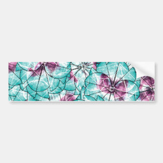 Abstract Shapes Bumper Sticker