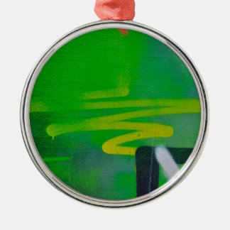 abstract shapes paint background christmas ornament
