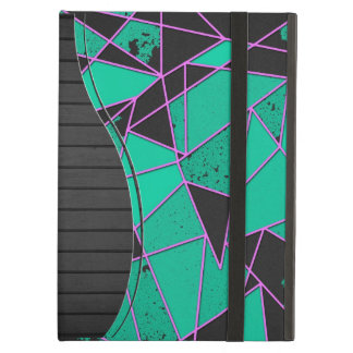 Abstract shattered iPad air cover