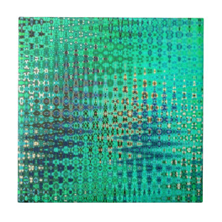 Abstract Shimmer Tile