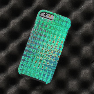 Abstract Shimmer Tough iPhone 6 Case