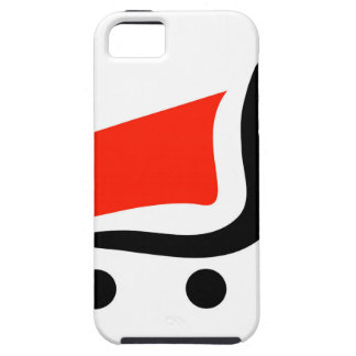 abstract shopping cart iPhone 5 cover