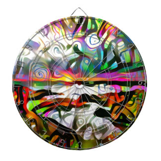 Abstract shore dartboards