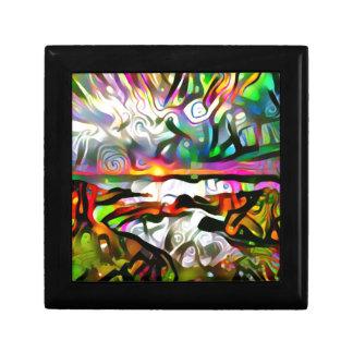 Abstract shore gift box