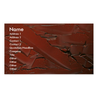 Abstract Sienna oil paint texture Business Card