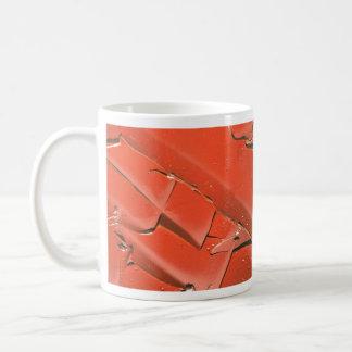 Abstract Sienna oil paint texture Mug