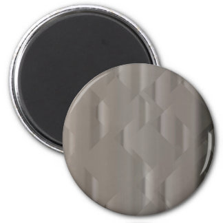 Abstract Silver Background 6 Cm Round Magnet