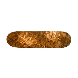 Abstract Skate Design Skate Board