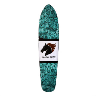 "Abstract skateboard deck ""Skater Spirit """