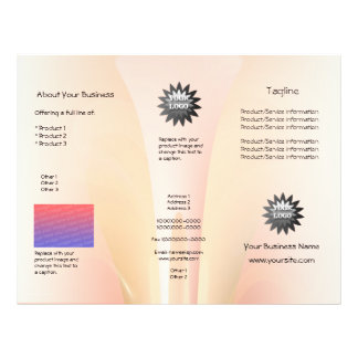 Abstract Skincare 21.5 Cm X 28 Cm Flyer