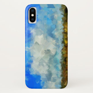 Abstract Sky iPhone X Case