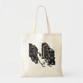 abstract skyscrapers bags