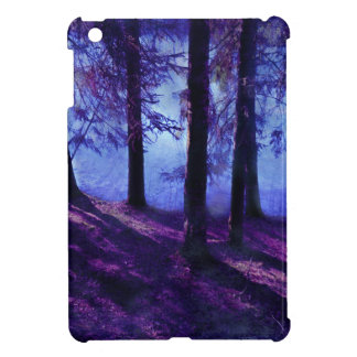 Abstract Small Forest Pond iPad Mini Cover