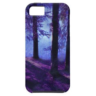 Abstract Small Forest Pond iPhone 5 Cases