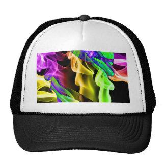 Abstract Smoke Art Photography Trucker Hats
