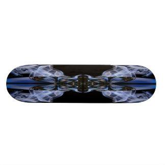 Abstract Smoke Art Skateboard