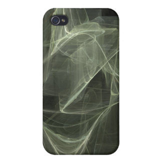 Abstract Smoke Design iPhone 4/4S Cases