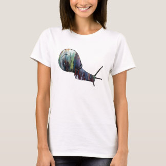 Abstract Snail silhouette T-Shirt