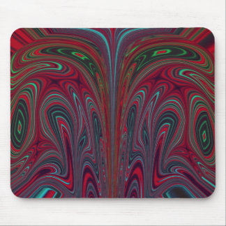 Abstract Snakehead Design Mouse Pad