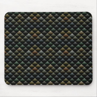 Abstract Snakeskin Pattern Mouse Mat