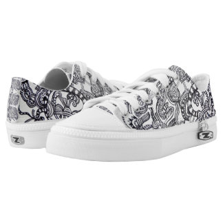 Abstract sneaker flowers 02
