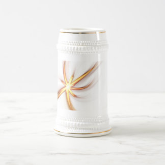 Abstract Solar Flare Beer Steins