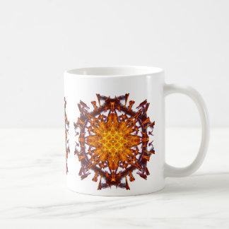 Abstract Solar Power Symbol Basic White Mug