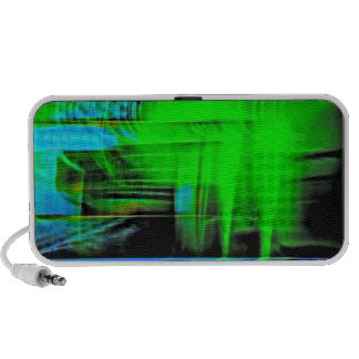Abstract Sounds Blasting Travelling Speaker