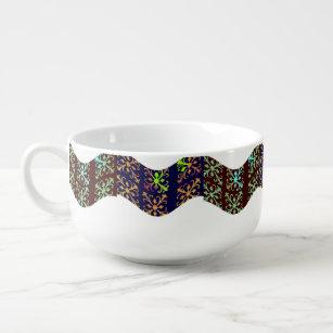 Abstract Soup Mug