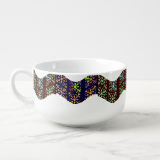 Abstract Soup Mug
