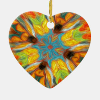 Abstract Southwestern Design Christmas Ornament