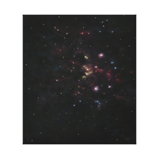 Abstract Space Gallery Wrapped Canvas