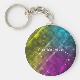 Abstract Space Key Chain